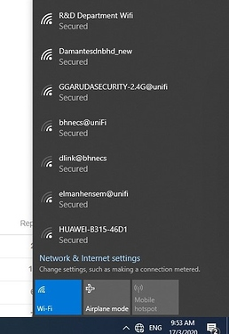 Wifi connection1